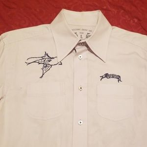 Diesel Casual Shirt - Intricate Embroidery